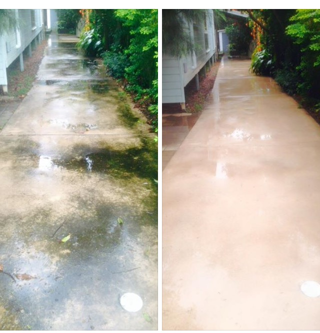 path pathway pressure cleaning